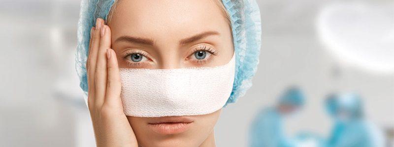 مراقبت های بعد از جراحی بینی های آسیب دیده