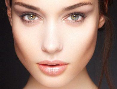 visage symétrique beauté