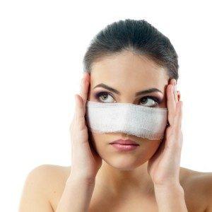 کبودی بینی بعد از عمل زیبایی